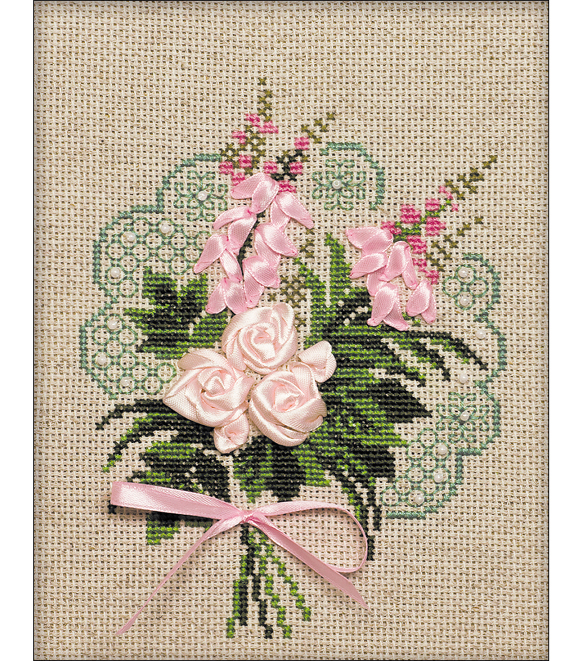 RIOLIS 7\u0027\u0027x9\u0027\u0027 Counted Cross Stitch Kit-Bouquet of Tenderness