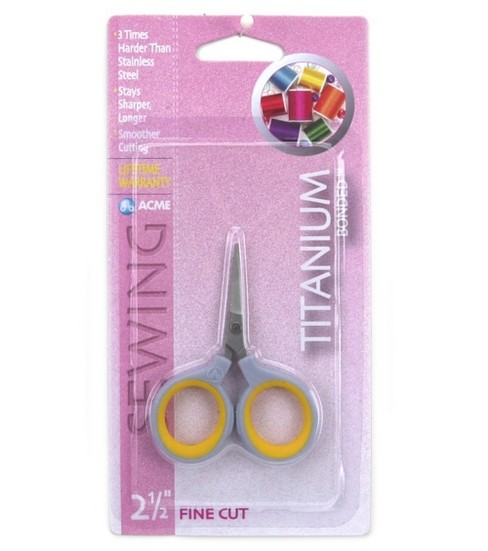 Acme 2-1/2\u0027\u0027 Titanium Fine Cut Scissors