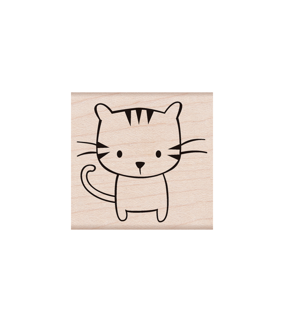Hero Arts Wood Mounted Rubber Stamp-Meow