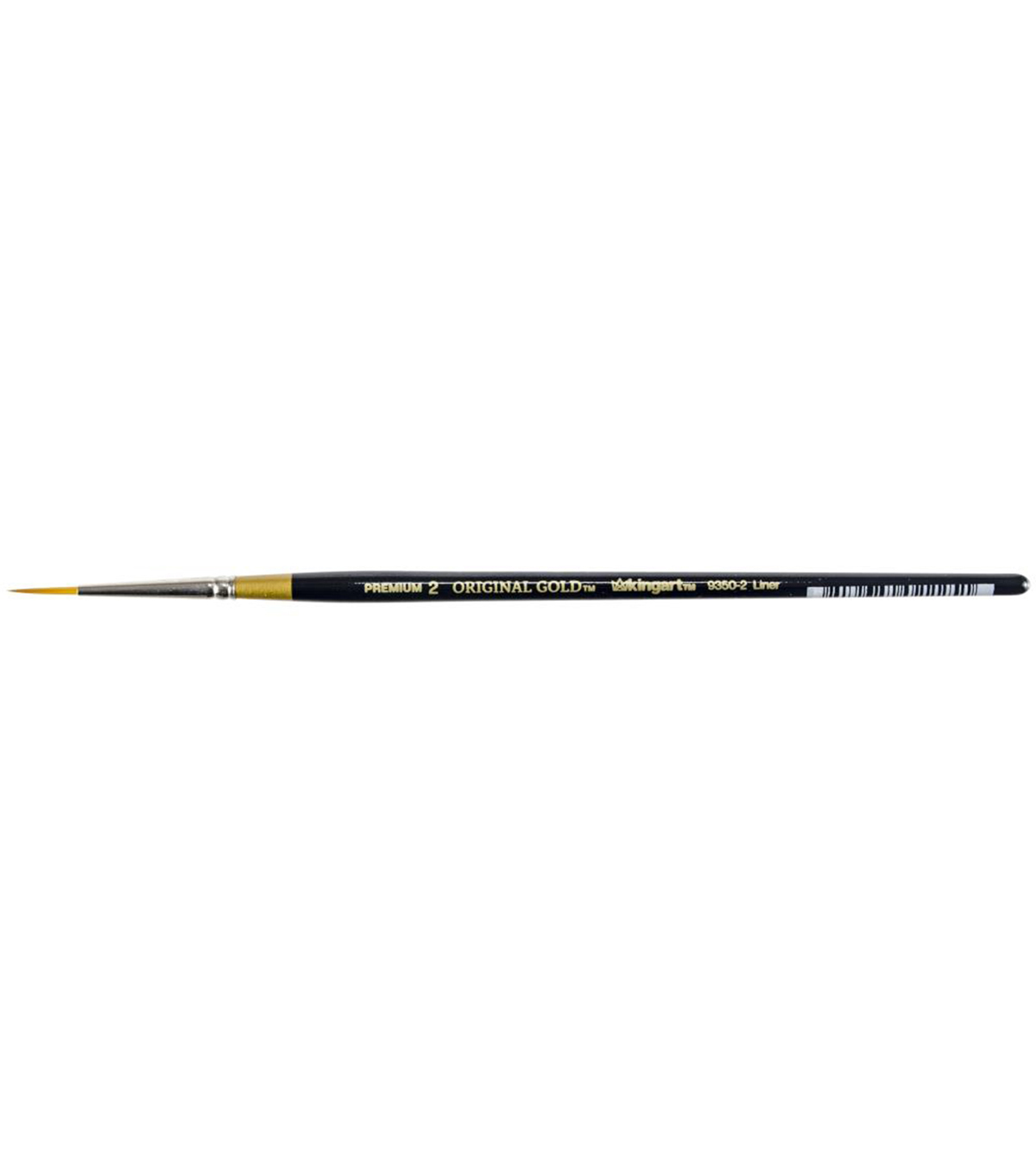KINGART Original Gold Paint Brush-Liner, Size 2