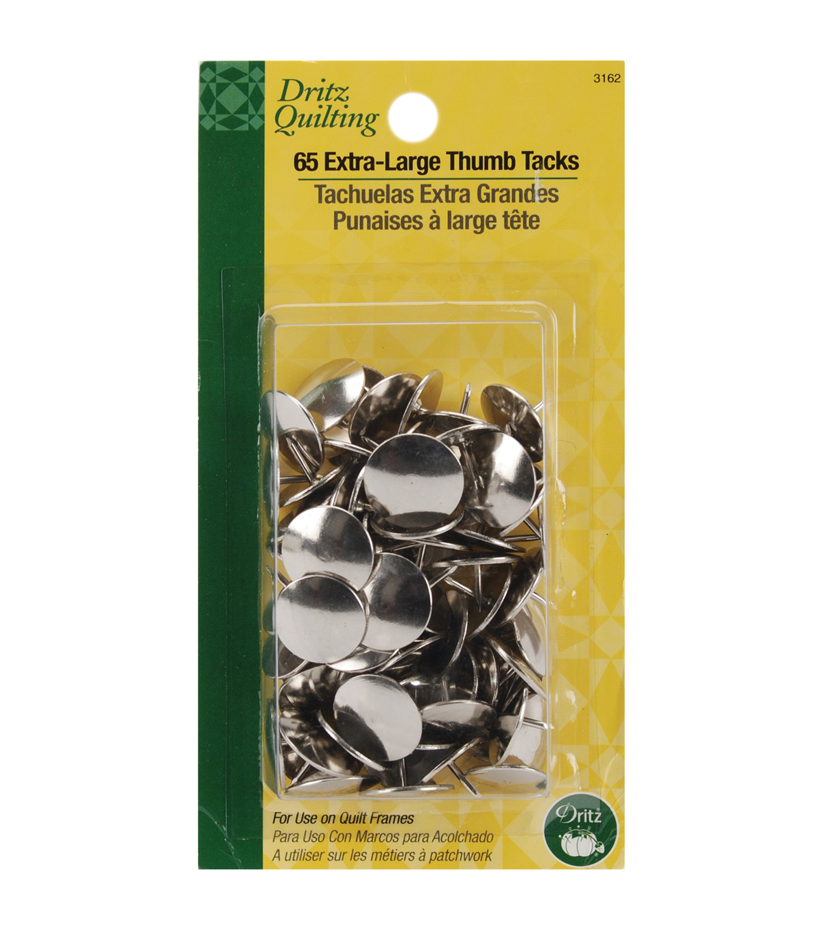 Dritz Quilting Thumb Tacks Extra Large
