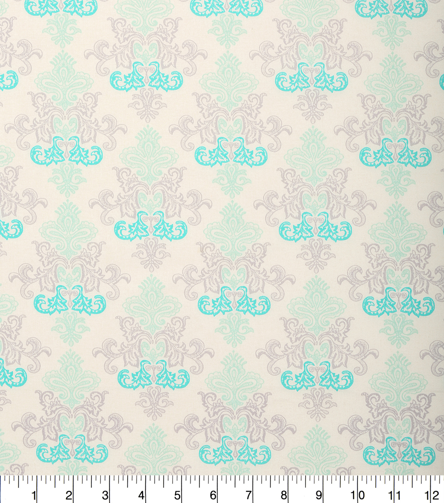 Keepsake Calico Cotton Fabric -Damask Blue