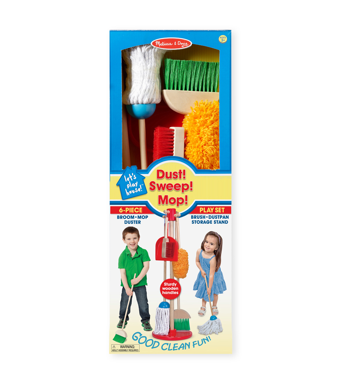 Let\u0027s Play House! Dust, Sweep & Mop