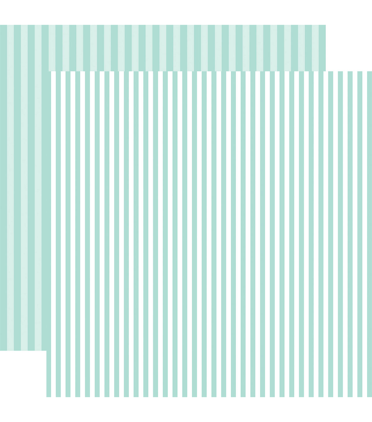 Echo Park Dots & Stripes Spring 12\u0027\u0027x12\u0027\u0027 Cardstock-Stripe on Blueberry