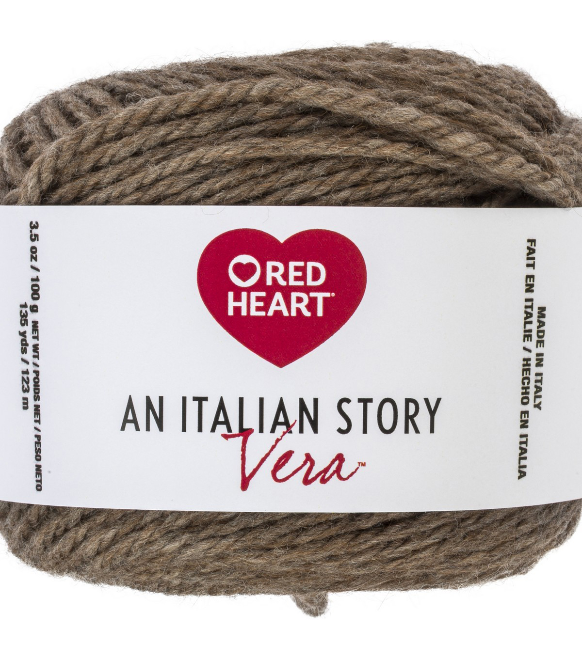 Red Heart An Italian Story Vera Yarn, Caffe