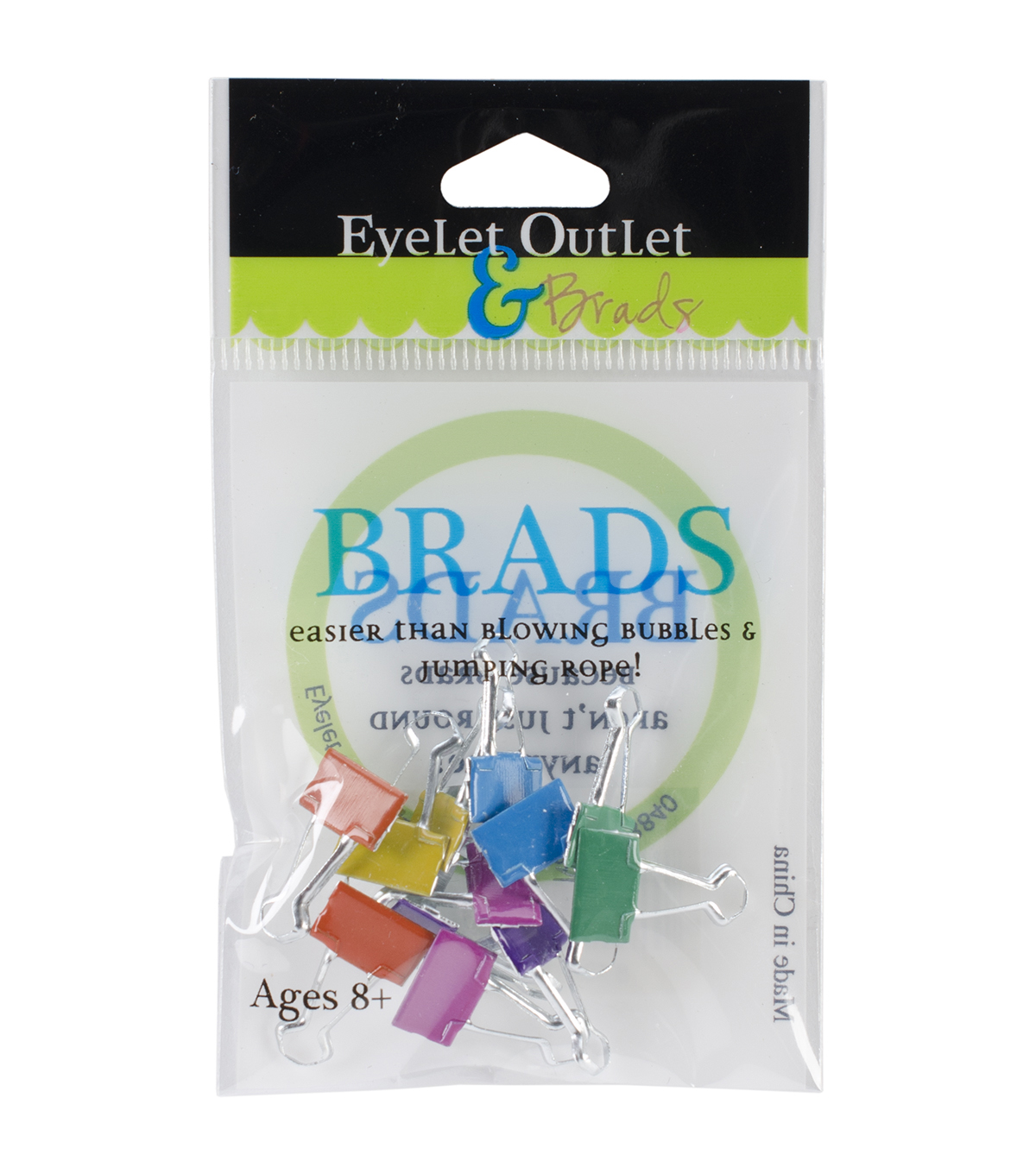 Eyelet Outlet Shape Brads-Binder Clips