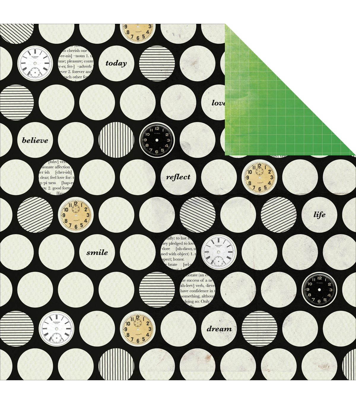 Kaisercraft Limelight Double-Sided Cardstock Paper Bright