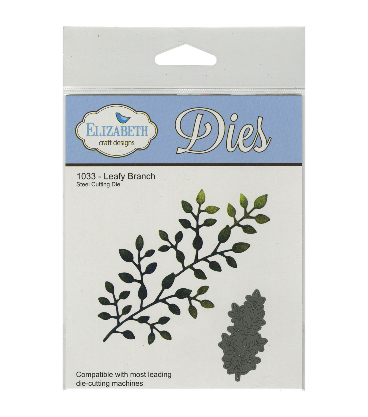 Elizabeth Craft Designs Metal Die-Leafy Branch