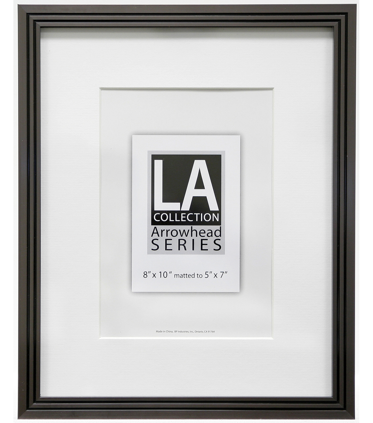 LA Collection Metal Wall Frame 8X10-Pewter