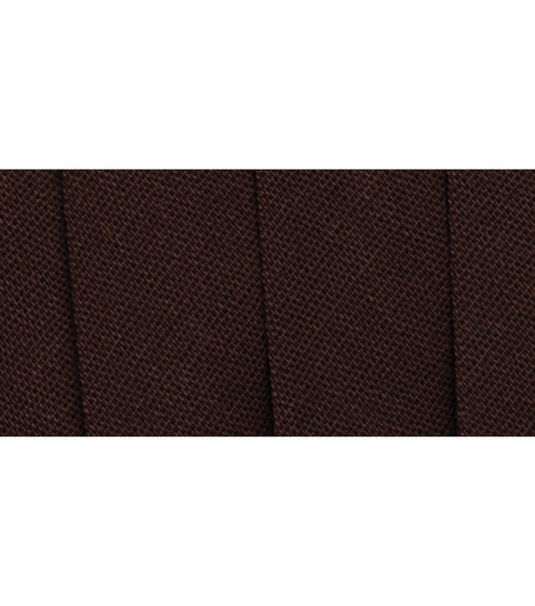 Wrights Extra Wide Double Fold Bias Tape, Seal Brown