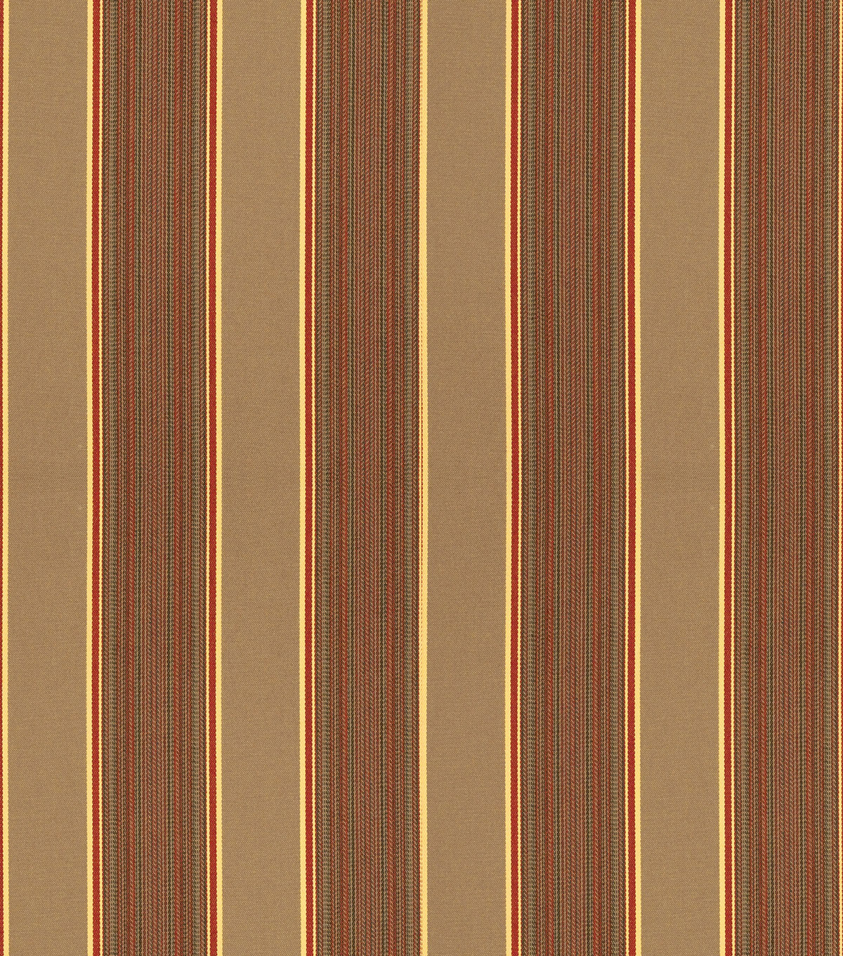Sunbrella Outdoor Stripe Fabric 54\u0022-Davidson Redwood