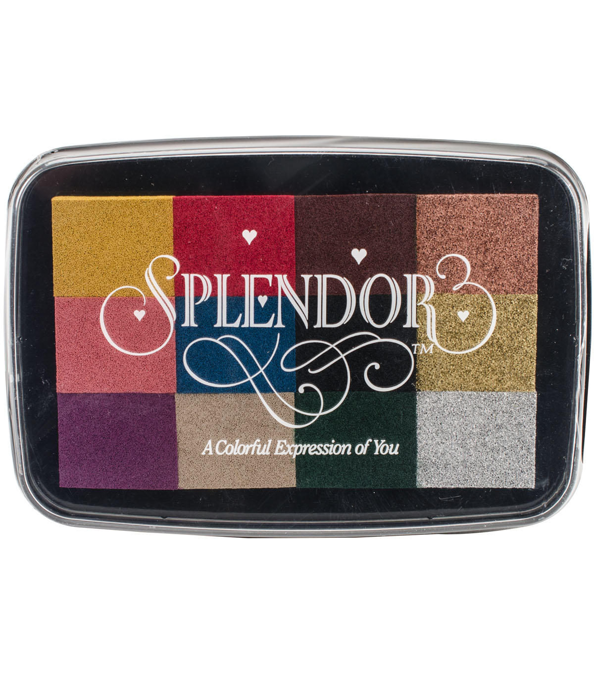 Splendor 12-color Pigment Inkpad