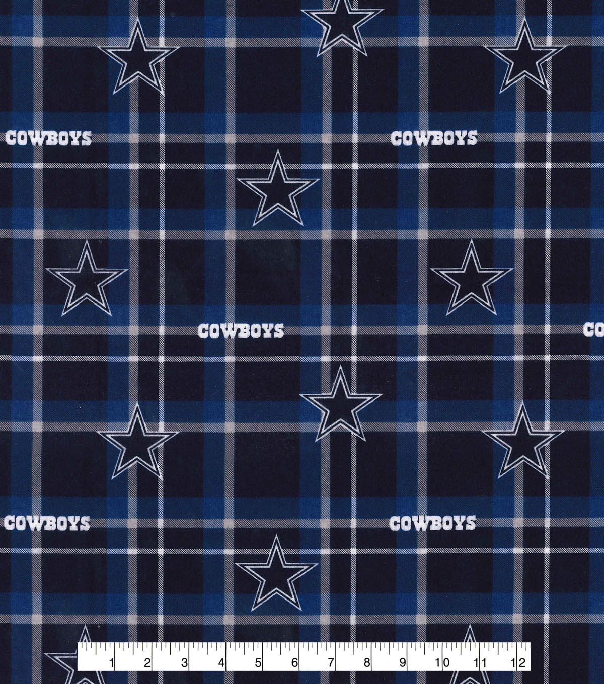 Nfl Dallas Cowboys Plaid Flnl