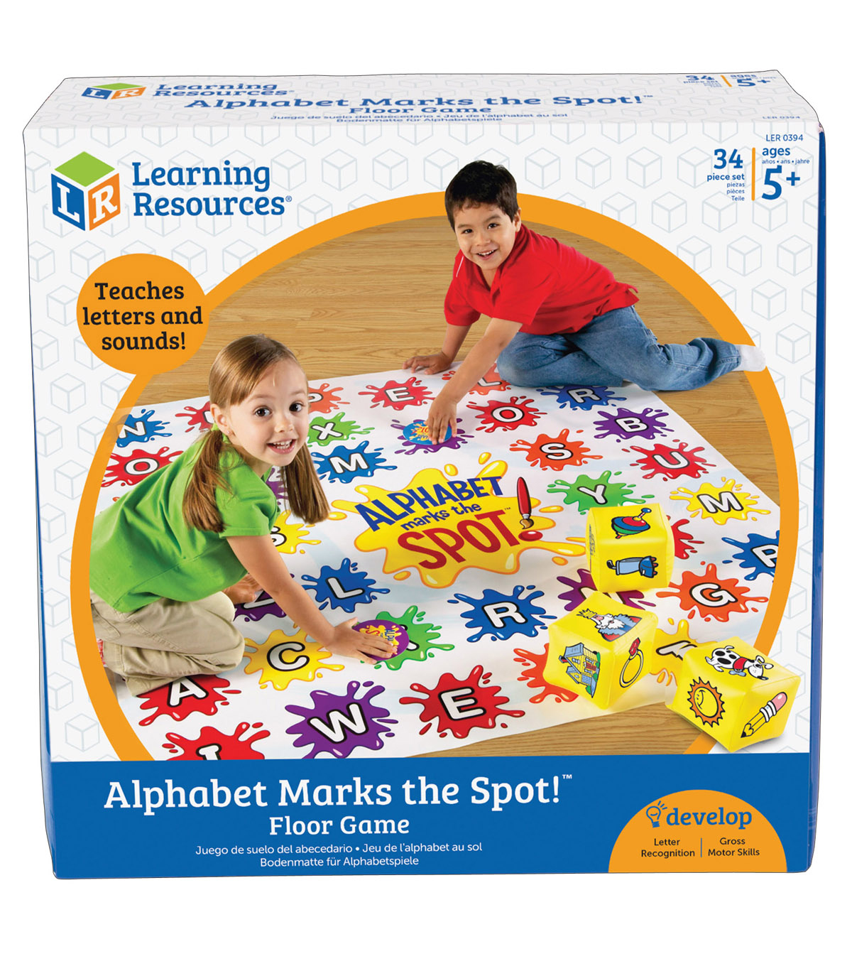 Learning Resources Alphabet Marks the Spot Game