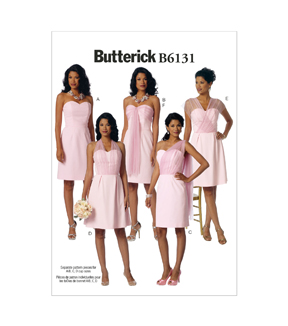 Butterick Misses Special Occasion-B6131