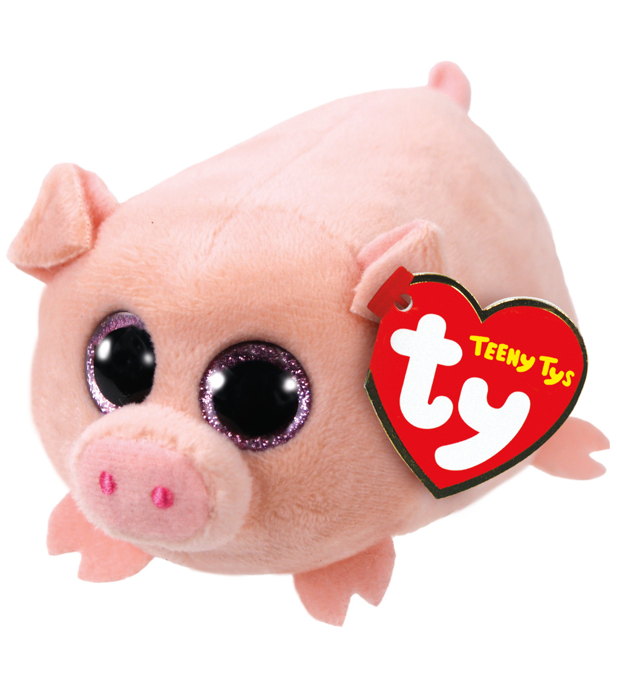 TY Beanie Boo Pig-Curly