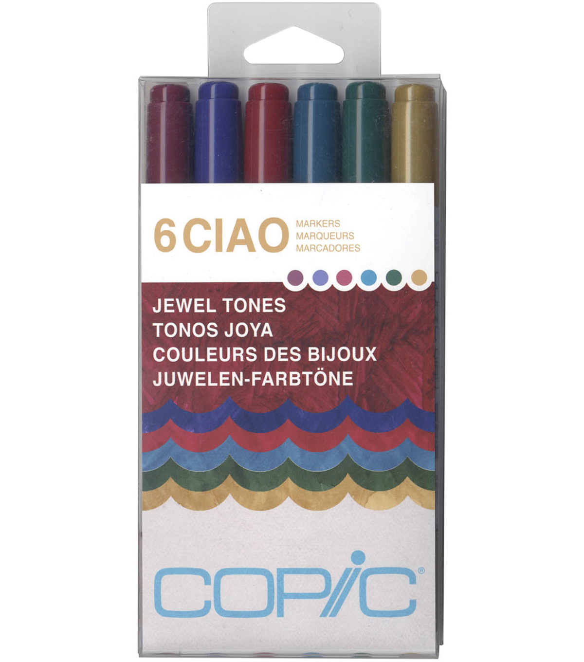 Copic Ciao Markers-Jewel Tones
