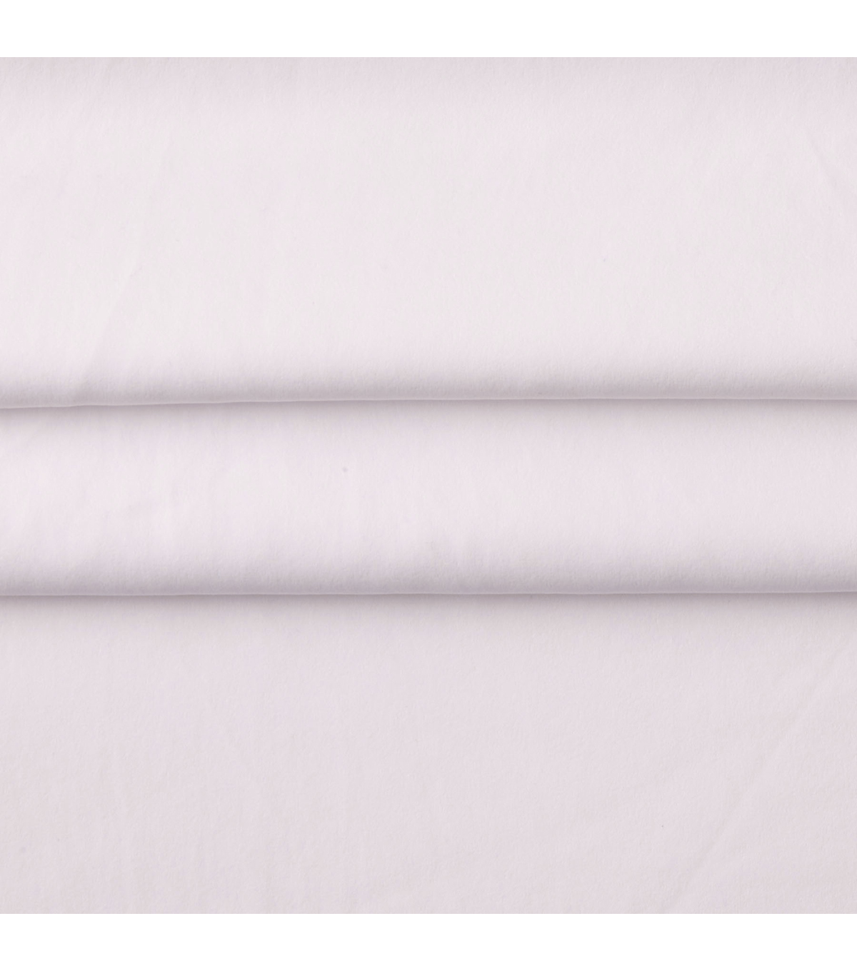 Casa Collection Sanded Satin Fabric -Brt White