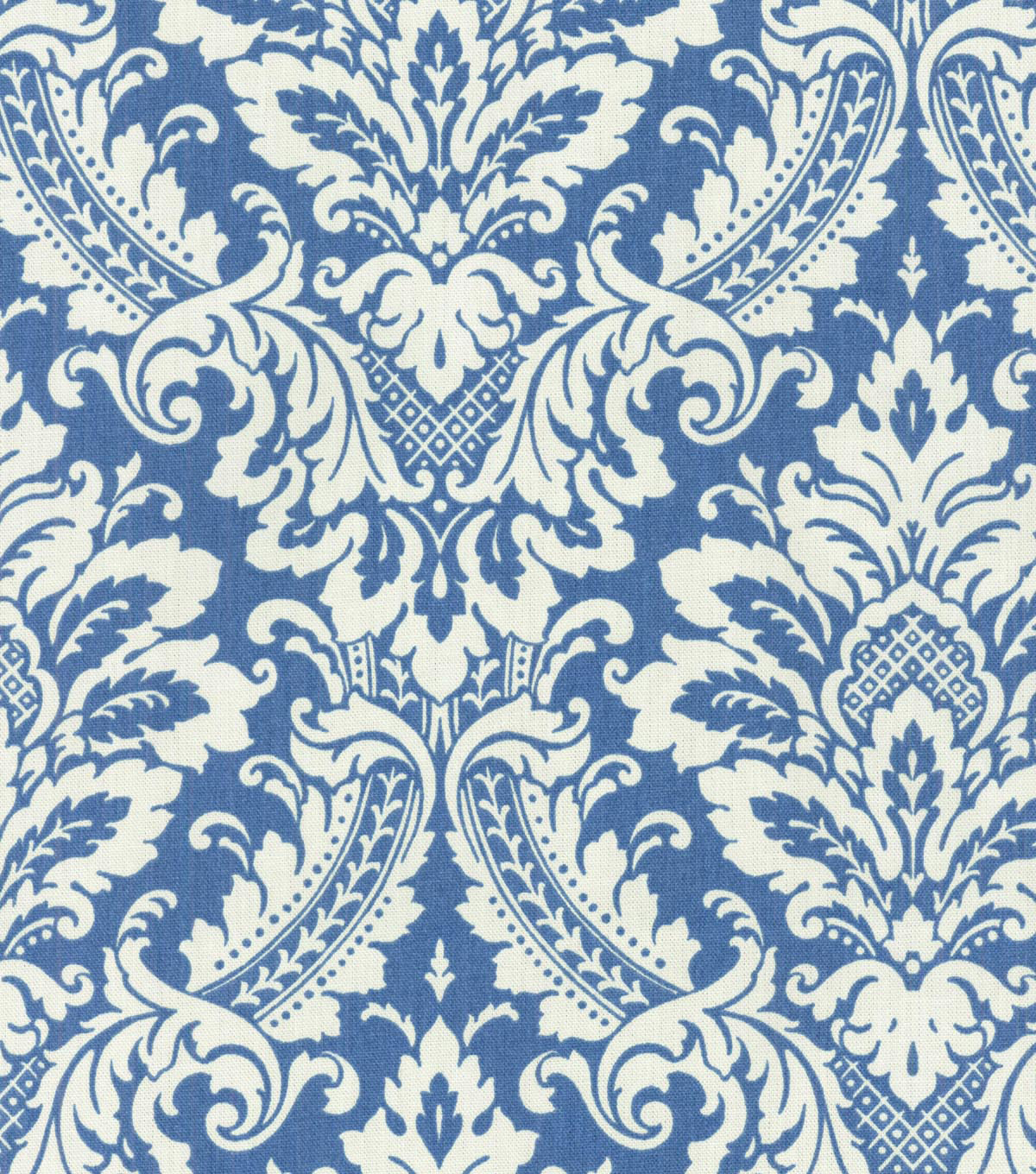 Waverly Upholstery Fabric 54\u0022-Warren Cornflower