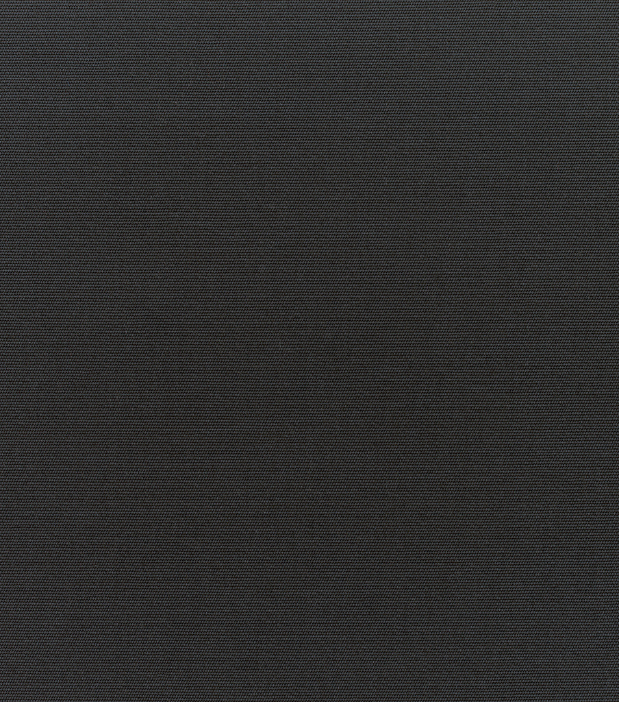 Sunbr Furn Solid Canvas 5408 Black Swatch