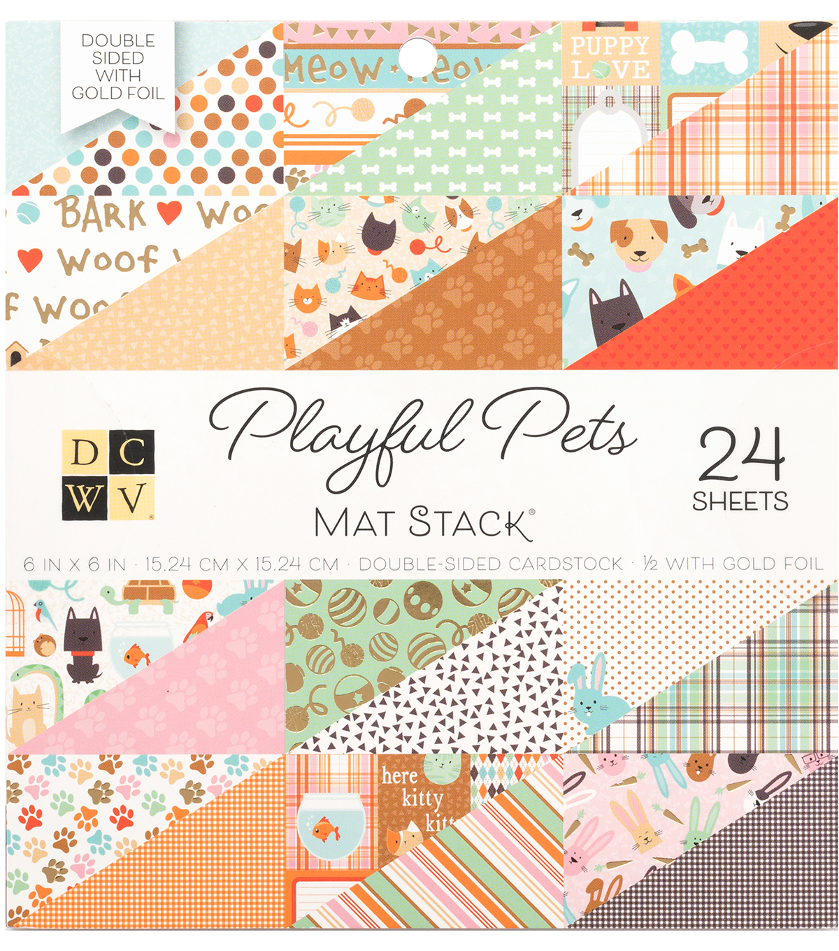 DCWV 6x6 Stack-Playful Pets