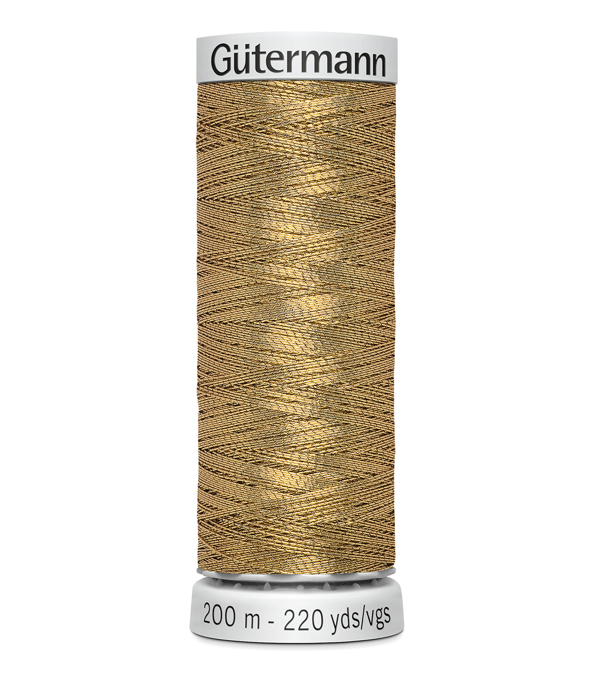 Gutermann 200M Dekor Thread, 200m Dekor Metallic 9961 Golde