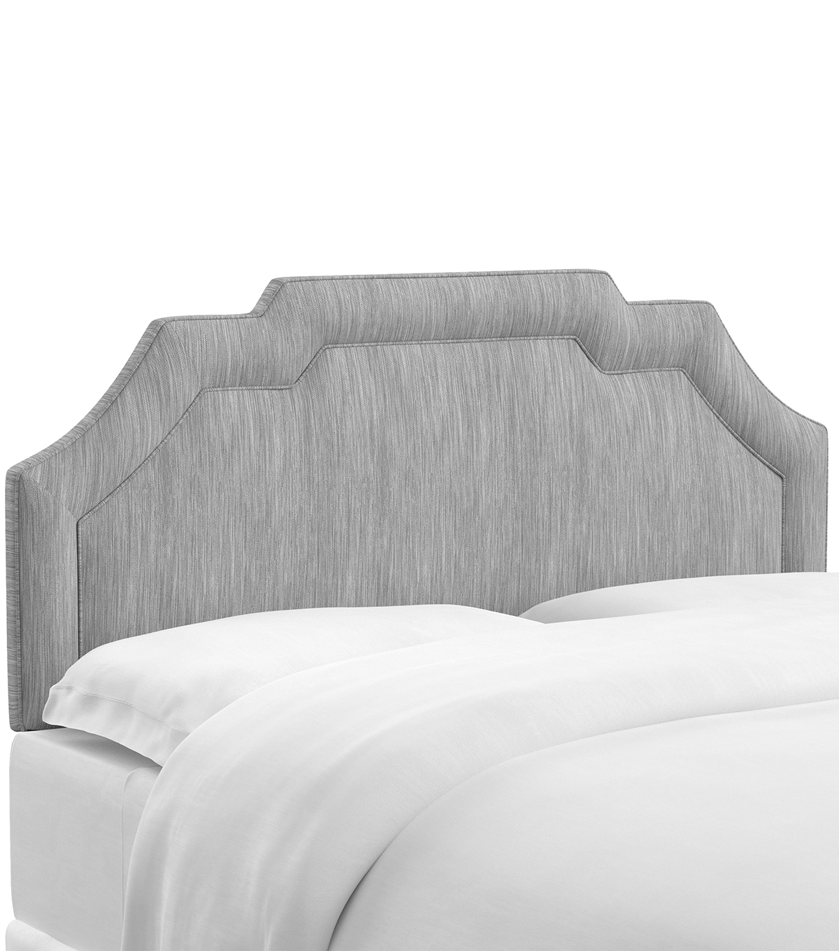 Skyline Furniture Notched Border Headboard-King