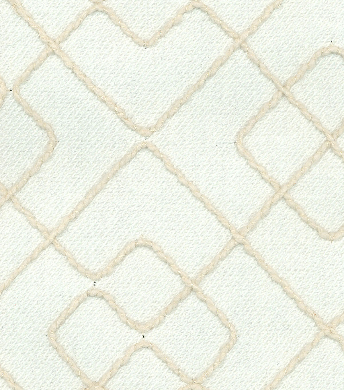 Ellen DeGeneres Multi-Purpose Décor Fabric 54\u0027\u0027-Gentilly Embroidery Parchment