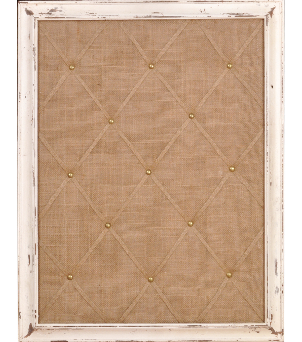18\u0022x24\u0022 Distressed Ivory Memo Board