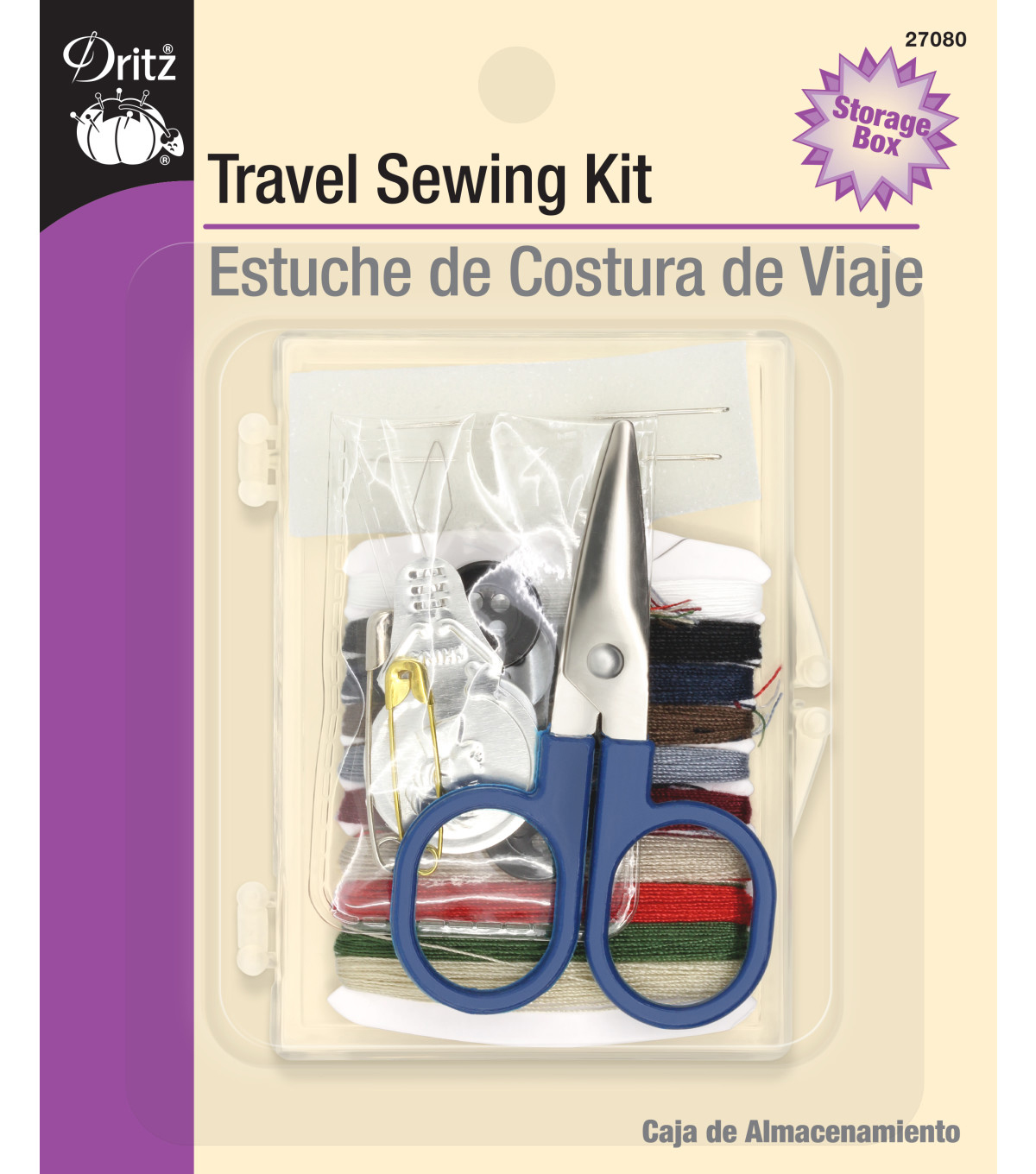 Dritz Sewing Kit with Scissors