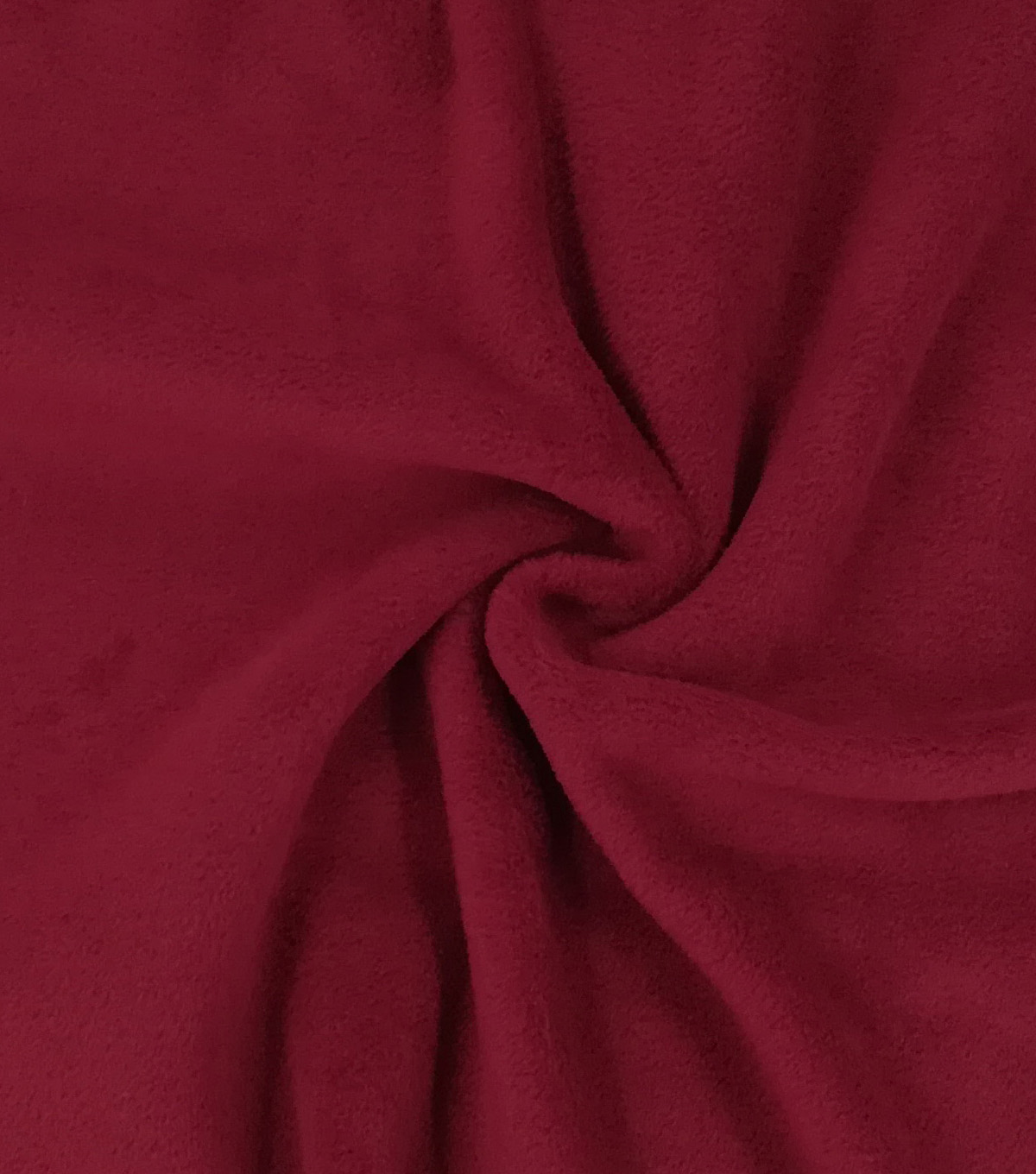 Luxe Fleece Fabric -Rhododendron Red