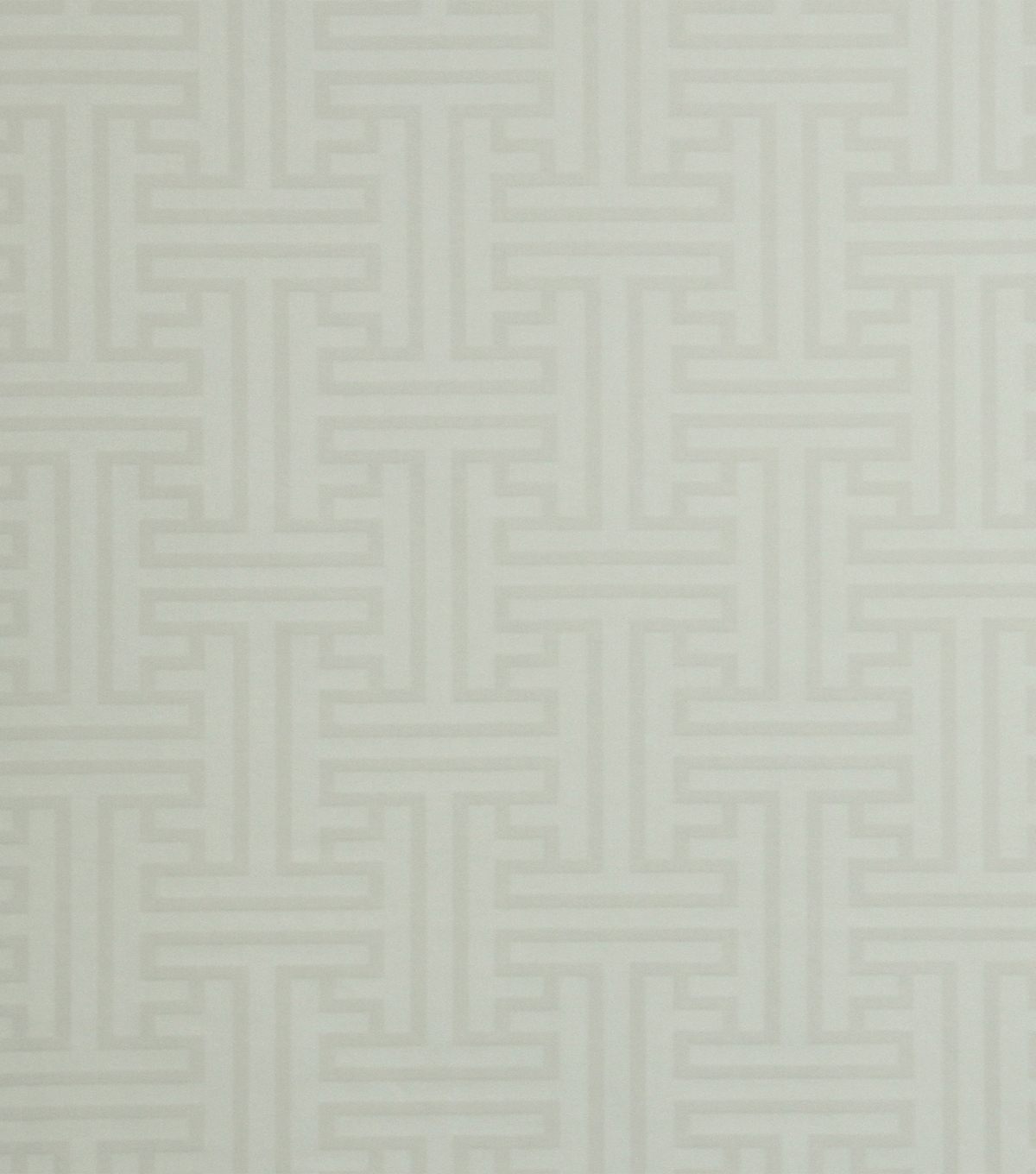 Home Decor 8\u0022x8\u0022 Fabric Swatch-Robert Allen Geo Damask White