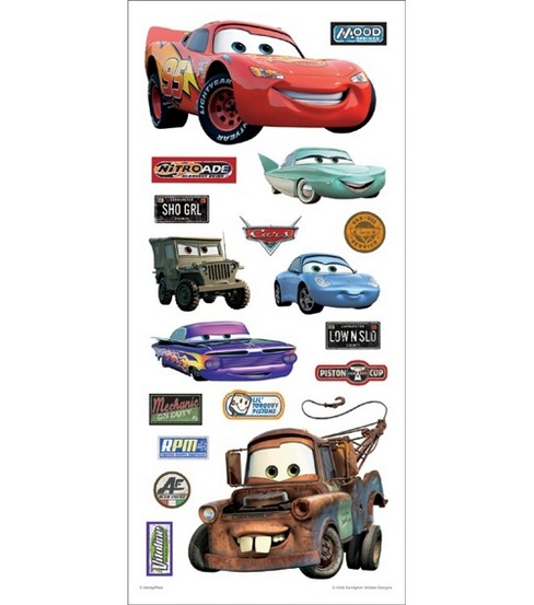 Sandylion disney cars stickers borders cars