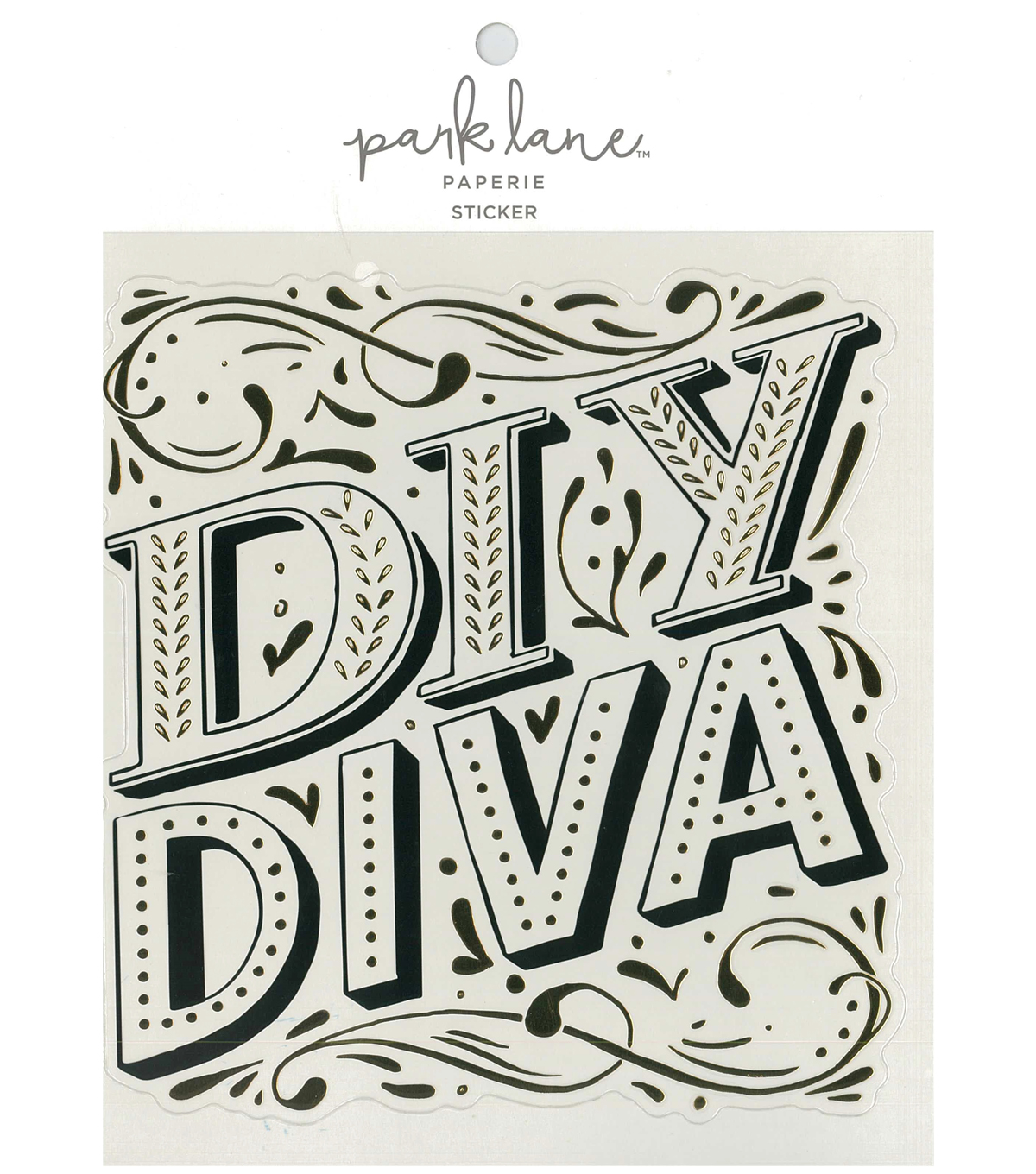 Park Lane Paperie Large Sticker-DIY Diva