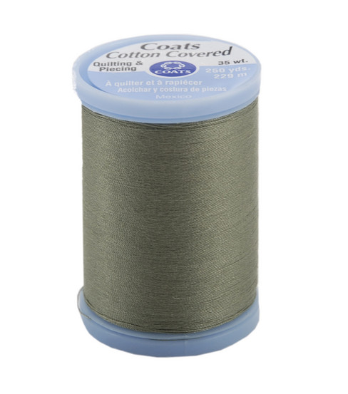 Coats & Clark Cotton Covered Quilting & Piecing Thread 250 Yards , 6180 Green Linen