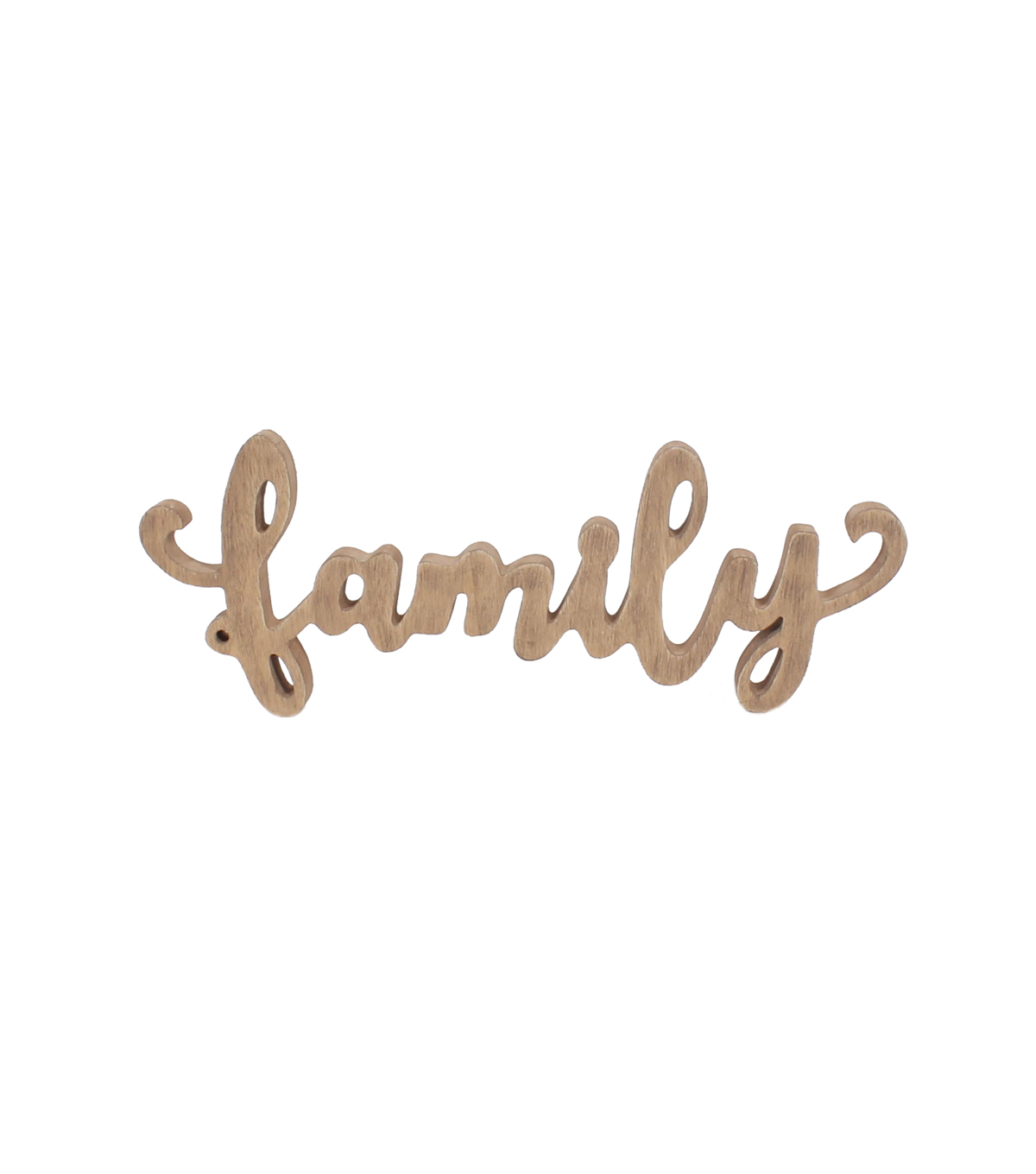 Simply Spring Family Script Word Wall Decor