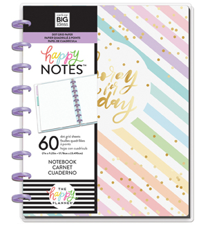 The Happy Planner Medium Notebook with 60 Sheets-Horray For Today