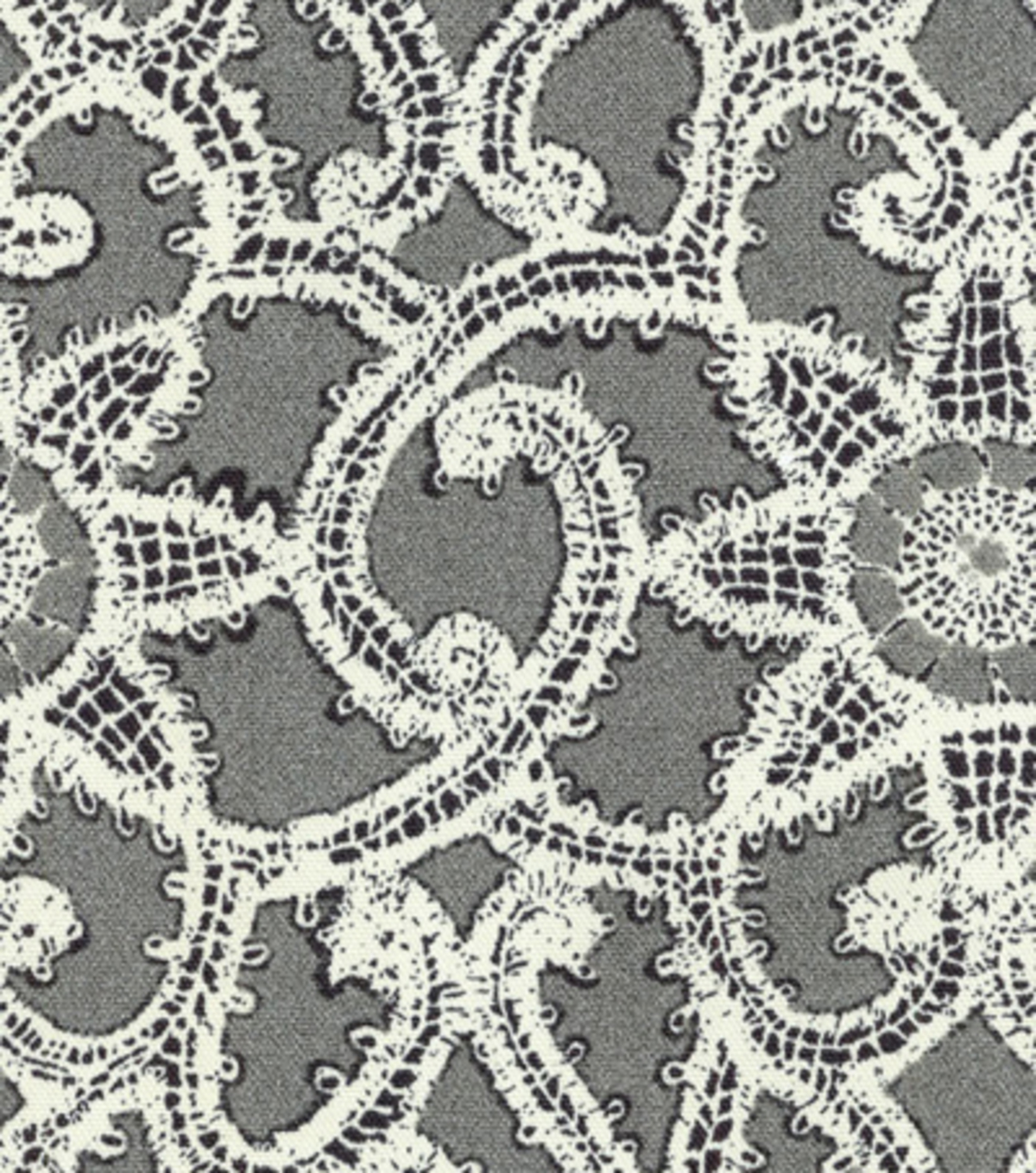 Home Decor 8''x 8'' Swatch- HGTV HOME Like Lace Zinc