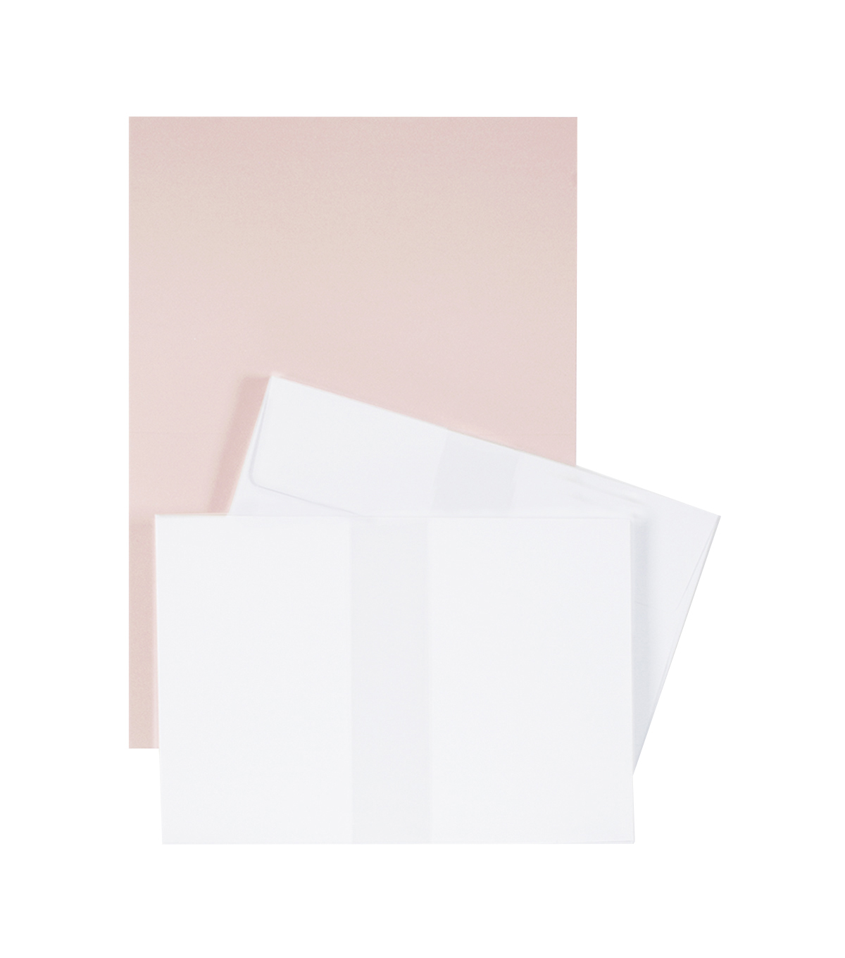 Park Lane A7 Cards & Envelopes-Blush