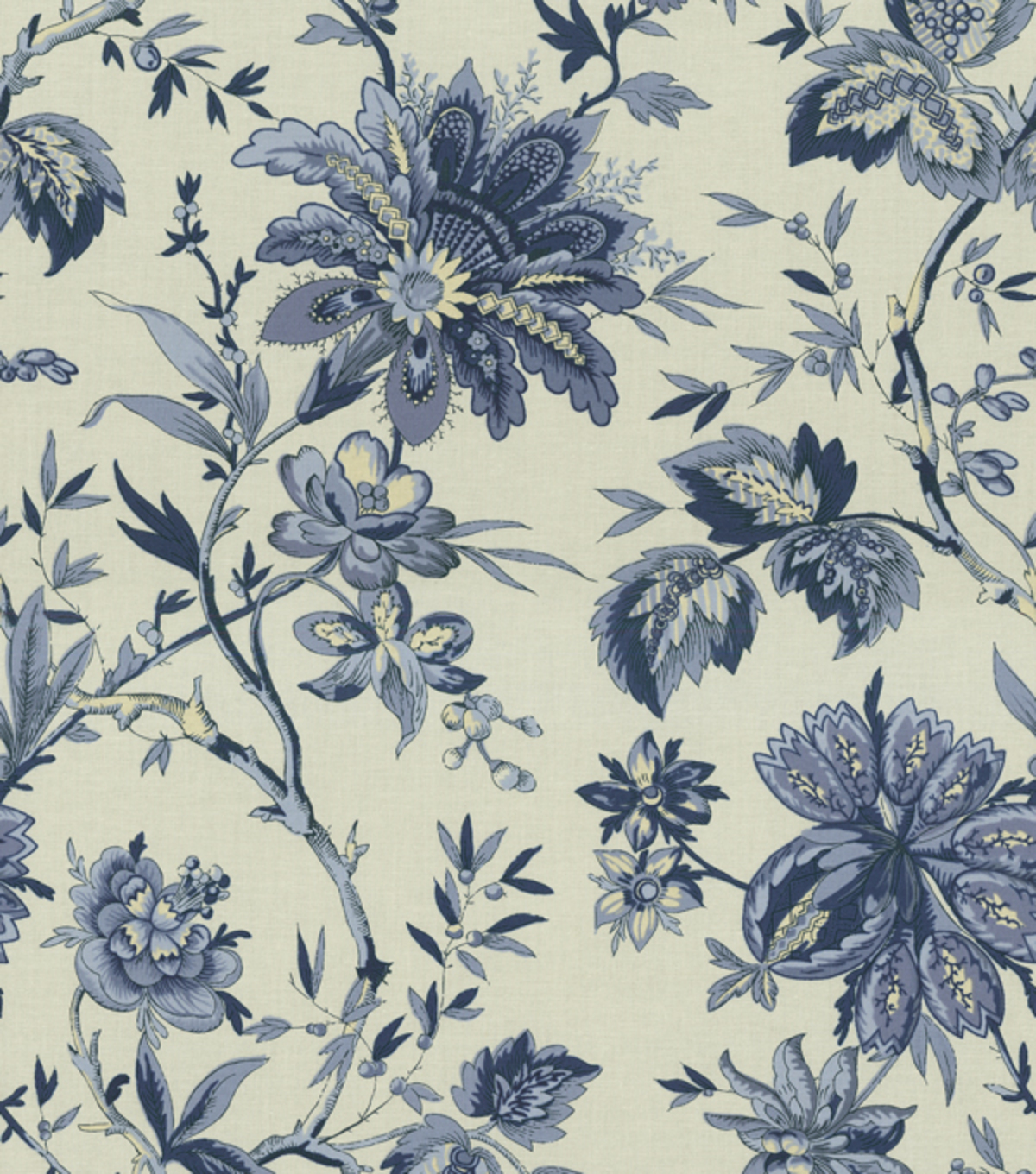 Waverly Multi Purpose Decor Fabric 56u0022 Felicite Indigo