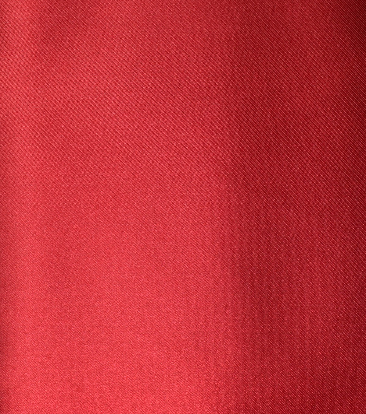 Casa Collection Shiny Satin Fabric, Tango Red