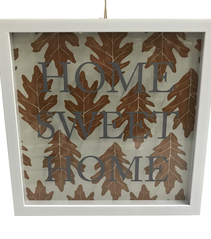 Simply Autumn Shadow Box Wall Decor Home Sweet Home Joann