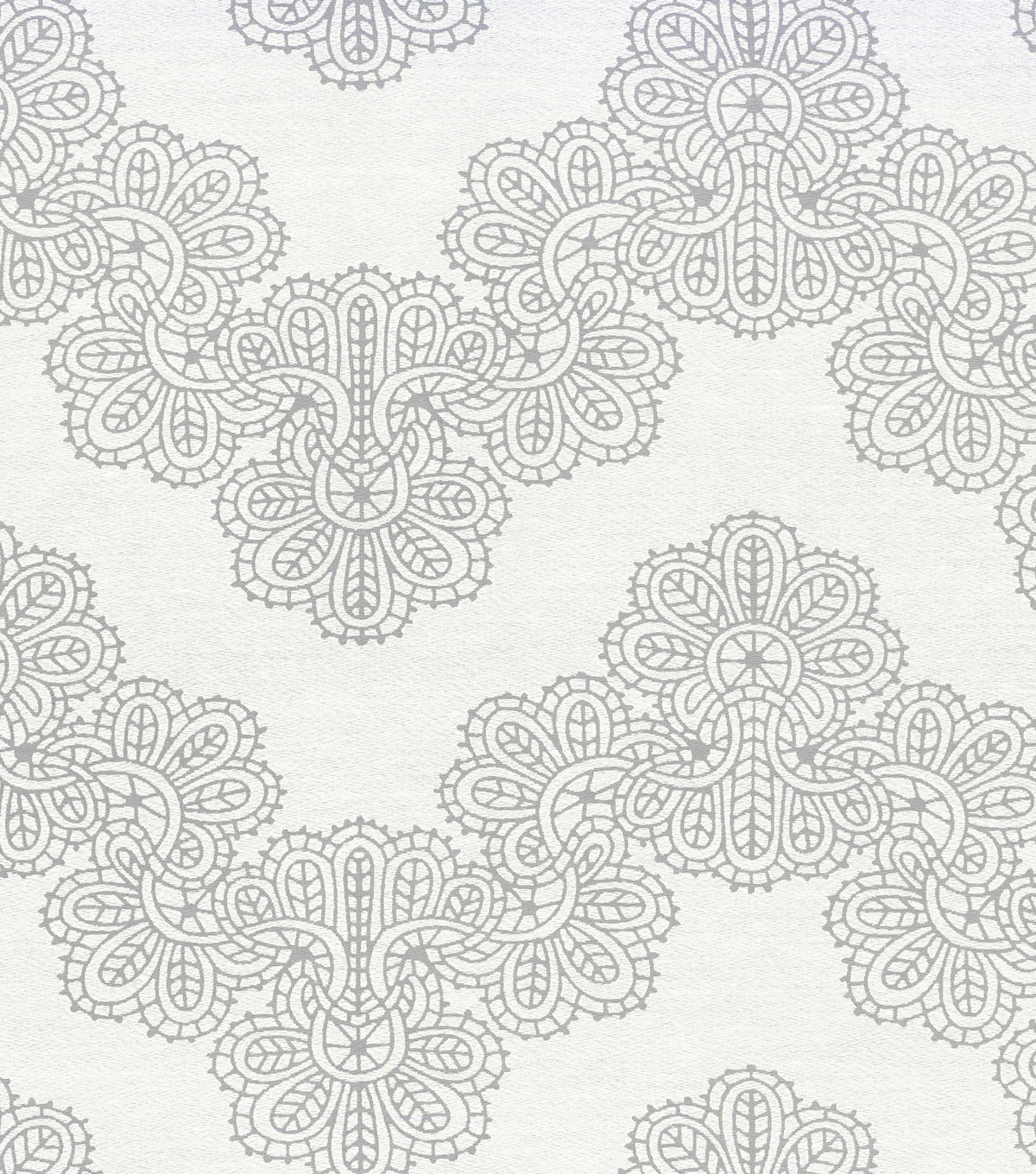 Waverly Sheer Fabric 56\u0022-Airwaves/Cream