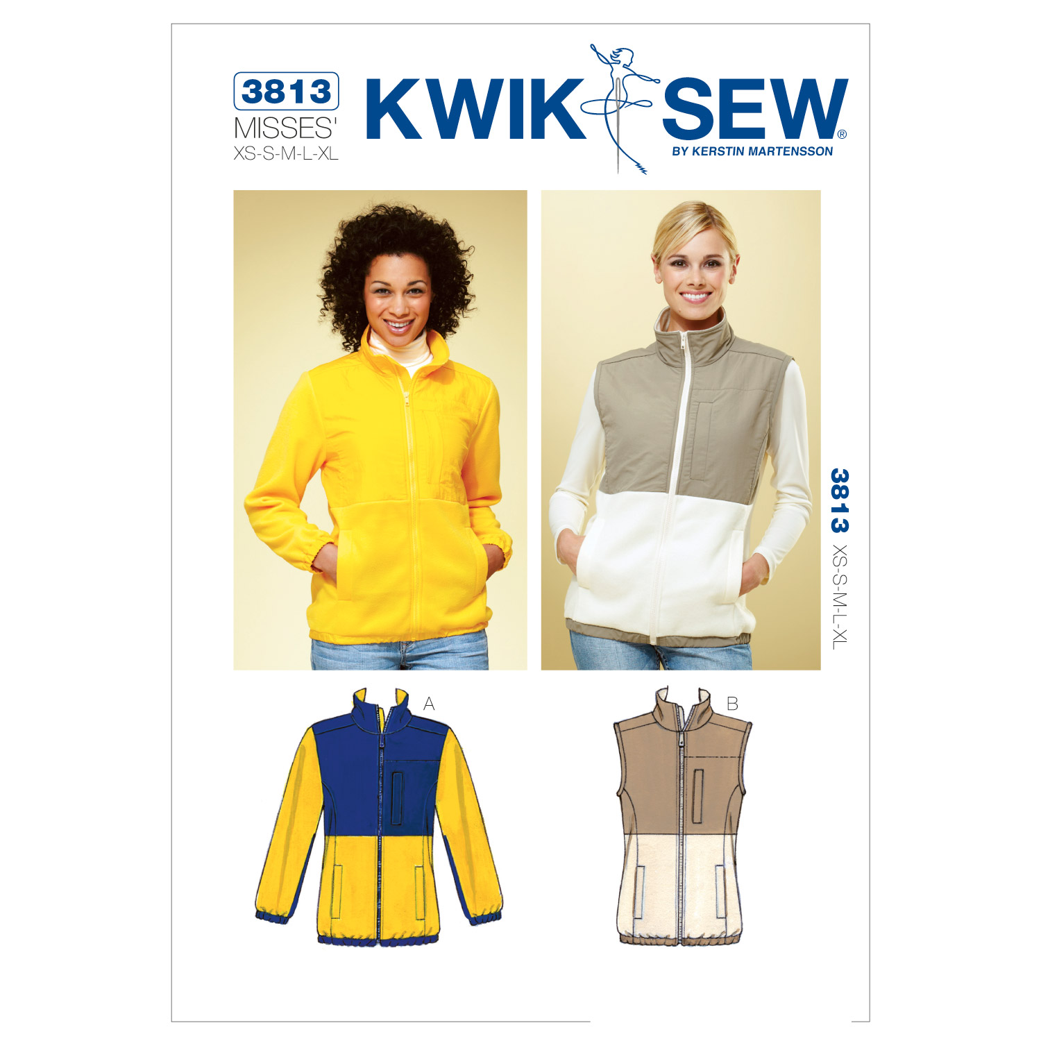 Kwik Sew Misses Jacket-K3813
