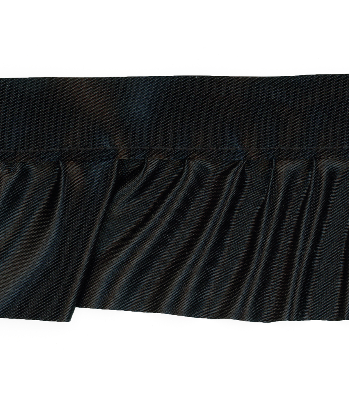 Simplicity Trims-1 7/8\u0022 Ruffle Black