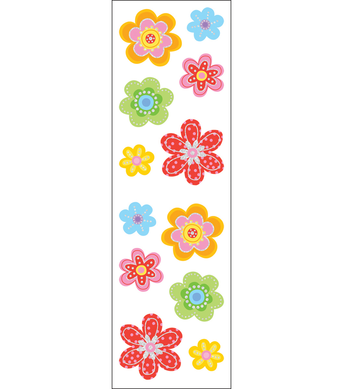 Mrs. Grossman\u0027s Stickers-Delightful Flowers