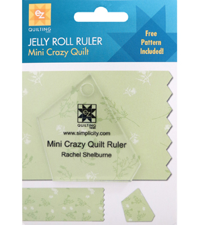 Ez Quilting Jelly Roll Rulers-Crazy Quilt