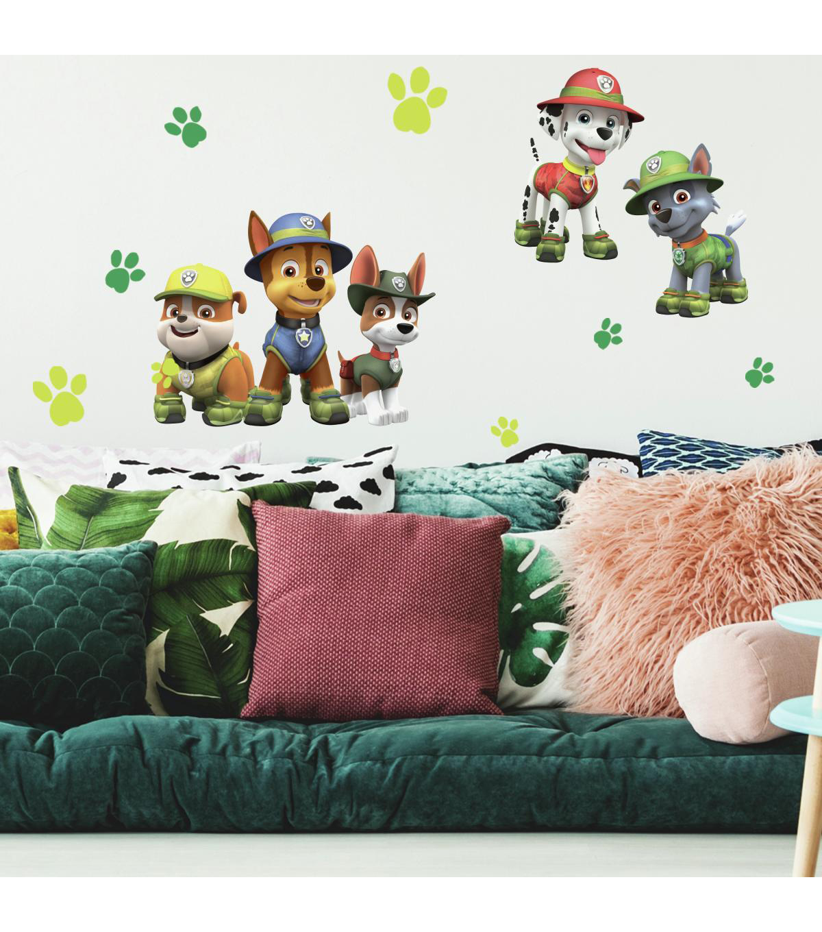 York Wallcoverings Wall Decals-Paw Patrol Jungle Giant
