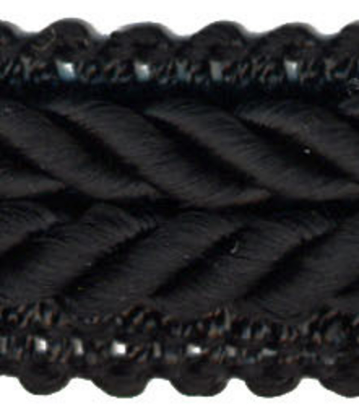 Wav 3/4 Braided Gimp 12yd Black