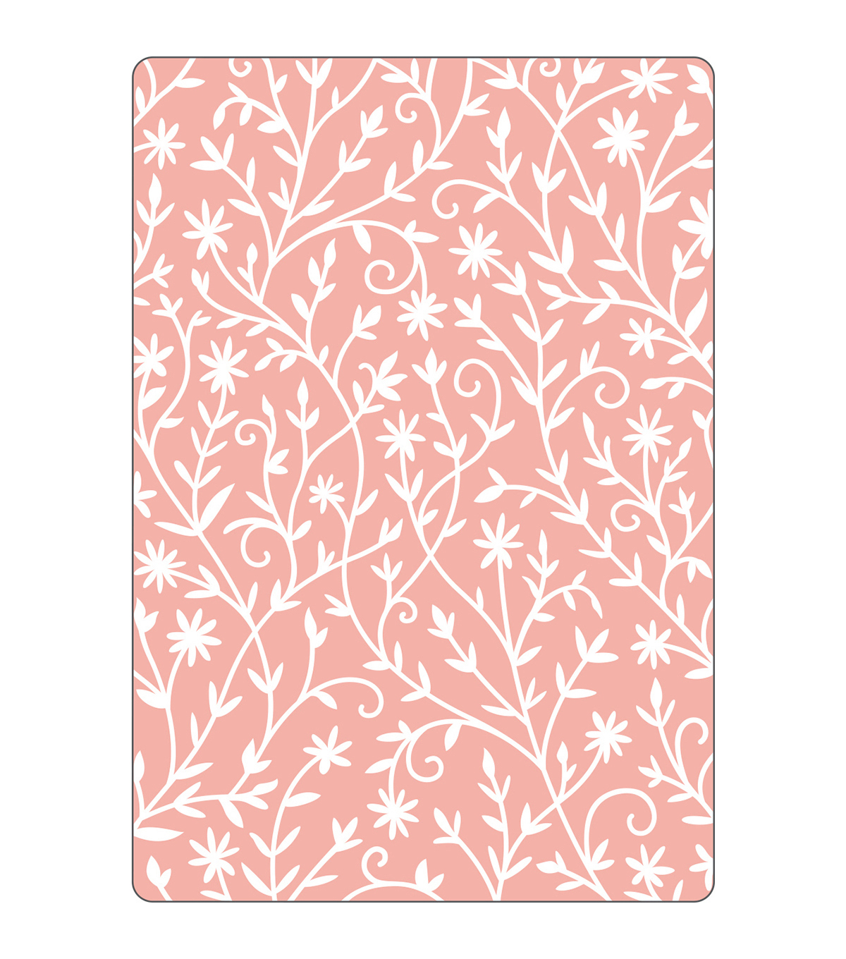 Sizzix Textured Impressions Embossing Folder-Flower Embellishments
